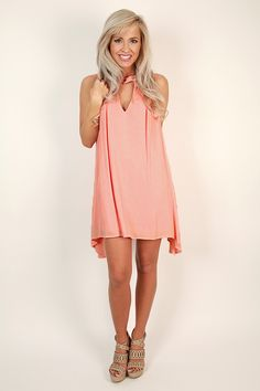 This dress has our spring fever in full swing! Pair it with heels or wedges for a chic look that's too cute!