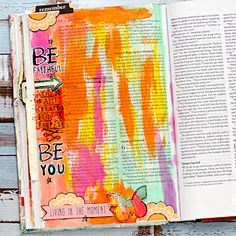 Hi there, Heather here to share my story of how Illustrated Faith and Bible Journaling has changed my life. Recently, my husband and I were going though some old boxes and I found some old Bibles from when I was…