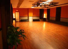 How perfect is this dance studio?!
