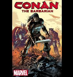 Conan Returns to Marvel Comics The world of comic books and the MCU had better watch out, because Marvel finally has the rights back to Conan the Barbarian. While Conan . Conan The Barbarian Comic, Marvel Comics, Comic Superheroes, Conan The Conqueror, Conan The Destroyer, Warrior Of The Light, Sword And Sorcery, Vintage Cartoon, Cartoon Art