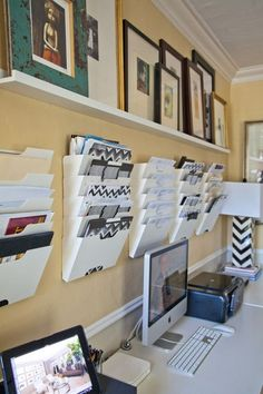 How to organise the paper clutter {Inspiration}-Blog | Home Organisation-The Organised You