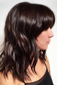 Hairstyles Ideas with Bangs for Round Face ★ See more: http://lovehairstyles.com/hairstyles-bangs-for-round-face/