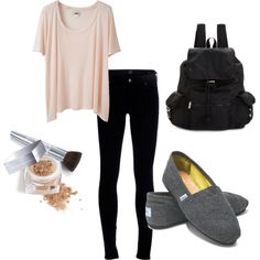 Leggings toms outfits, lazy outfits, everyday outfits, back to school outfi Toms Outfits, Lazy Outfits, College Outfits, Everyday Outfits, Winter Outfits, Summer Outfits, Casual Outfits, Cute Outfits, Lazy School Outfit