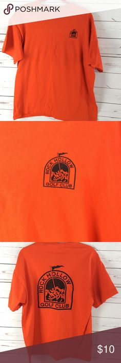 Fruit The Loom Mens T Shirt Orange Short Sleeve 100% money back guarantee, free returns and excellent customer service.  Your item will ship within 24 hours after payment is received (excluding weekends and Holidays)  Please let us know if you have any questions.   Fruit Of The Loom Mens T Shirt Size XL Orange Rock Hollow Golf Club Short Sleeve  Location: K7  Our items are all from a pet free, smoke free home.  Items are purchased locally or donated so we are not aware if they have formally…