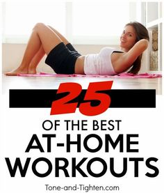 25 Amazing At-Home Workouts
