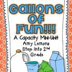 Don't you just love making Gallon Guys with your class?  Capacity can be a fairly difficult concept, but these hands-on activities will definitely ...