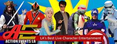 Los Angeles Character Entertainers for Birthday Parties