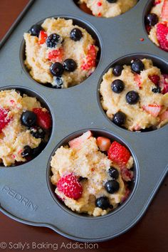 Sallys Master Muffin Batter - 1 mix, endless options to create bakery-style muffins at home!