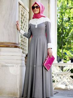 20 Ways to Wear Silk Hijab Abaya Fashion, Modest Fashion, Hijab Mode, Moslem Fashion, Modele Hijab, Mode Simple, Abaya Designs, Muslim Dress, Islamic Fashion
