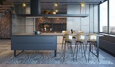 perfect gray dining room design