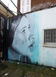 stencils:  Rone (by Claudelondon)
