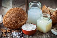 DIY-Kosmetik-Rezept für eine selbst gemachte Kokosöl Gesichtsmaske - Frisch, fruchtig und mit leichtem Peeling-Effekt ...