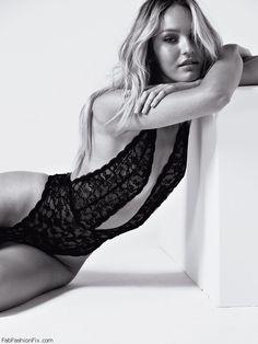 Seductive Candice Swanepoel for Victoria's Secret lingerie. #victoriassecret #candiceswanepoel