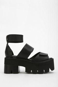 Jeffrey Campbell Warlock Treaded Platform Sandal #urbanoutfitters #platformsandals