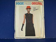 1960's Mid-Century Sewing Pattern Vogue Paris Original Balmain #1645 Sz14