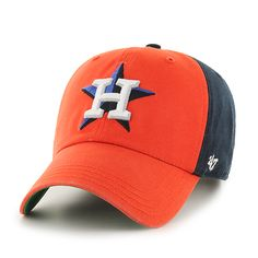 53aafdc4fba Houston Astros Flagstaff Clean Up Navy 47 Brand Adjustable Hat - Detroit  Game Gear