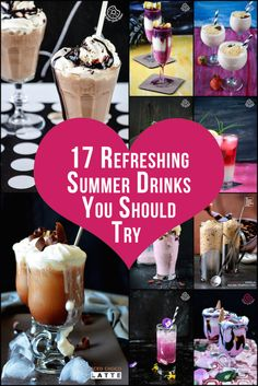 Top 17 Refreshing And Cool Summer Drinks Belong to Your Summer Drinking Bucket List! #drinks #summer