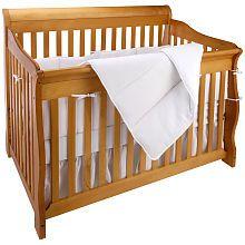 """Trend Lab White Pique 4 Piece Crib Bedding Set - Trend Lab - Babies """"R"""" Us"""