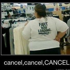 Only at WalMart. This lady needs to get her head examined. Embracing vulgarity or a warped sense of humor?