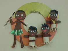 Jižní Afrika Projects For Kids, Diy For Kids, Art Projects, Crafts For Kids, Tribu Masai, Toilet Paper Roll Crafts, Paper Crafts, Africa Craft, Cultures Du Monde