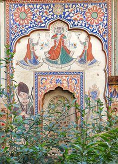 Sneh Ram Ladia's Haveli, Mandawa - INDIA