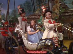 In the film The Wizard of Oz, the carriage that transports Dorothy around the Emerald City is the very same one that Abraham Lincoln used during his presidency! It even carried Lincoln to his inauguration!