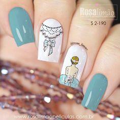 Glam Nails, Manicure And Pedicure, Beauty Nails, Cute Nail Art, Cute Acrylic Nails, Stylish Nails, Trendy Nails, Maybelline Nail Polish, Nail Drawing