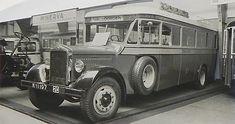 """Minerva autobus van de """"HTM"""", Amsterdam, 6 cyl."""