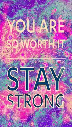Stay Strong galaxy iPhone/Android wallpaper I created for the app CocoPPa. Cocoppa Wallpaper, Wallpaper Iphone Cute, Wallpaper Backgrounds, Phone Wallpapers, Galaxy Wallpaper Quotes, Happy Wallpaper, Heart Wallpaper, Wallpaper Ideas, Quotes To Live By