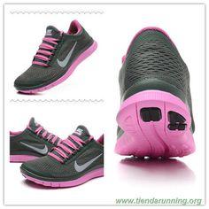 new product 5fd2e 30ae9 calzado Nike Free 3.0 V5 580392-315 Dark Mica Verde-Rojo Violet-Blanco  cumbre