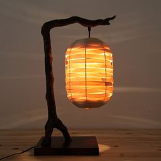 designer Bars und Clubs harz furnier lampe kreative lampe leuchtet neuen chinesisch studieren American retro tischlampe