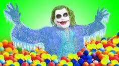 Người Nhện Và Joker w/ Nữ Hoàng Băng Giá Tập 24 SpiderMan vs Joker & Frozen Elsa