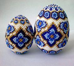 Assortment of beaded Easter eggs | Beads Magic