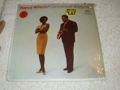 Nancy Wilson CANNONBALL ADDERLEY Vinyl Record *Free Shipping in the US* T1657