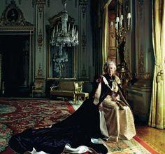 Queen Elizabeth by Annie Leibovitz                                                                                                                                                                                 More