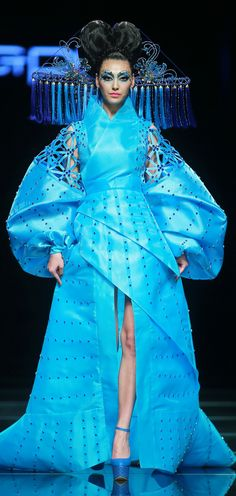 Mao Geping Image-design Art School S/S 2015 China Fashion Week in Beijing