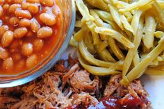 Crock Pot BBQ Pulled Pork is a long cooking crock pot recipe that couldn't be simpler. Use the pulled pork in sandwiches, or for nachos, salads, and wraps! Crockpot Dishes, Crock Pot Slow Cooker, Crock Pot Cooking, Pork Dishes, Slow Cooker Recipes, Crockpot Recipes, Cooking Recipes, Bbq Pork, Grilled Pork