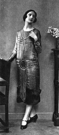 Robe de diner, 1924