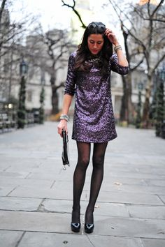 @Nicole Miller Sequined stunner #NMHolidays #giveaway on the nycpretty.com!