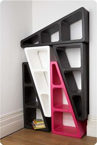 The MAKE/SHIFT modular shelving dapats to any space!
