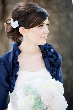 Blue Bolero by Empress Bride