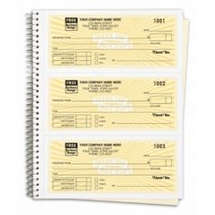 Invoice Books Custom Entrancing Special Wording Custom Patriotic Receipts In A Book 55Swflg Show .