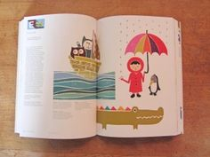 My page in 'Print & Pattern Kids'