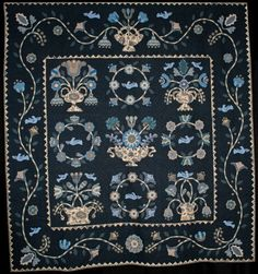 Blue Denim by Julee Prose.  NQA 2014 Quilt Show