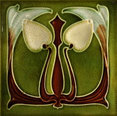 Corn c1905/07 - RS0272 - Art Nouveau Tiles