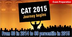 """""""CAT 2015 crack with high percentile. CAT 2015 is going to be a different experience for admission seekers to one of the 20 IIMs"""""""