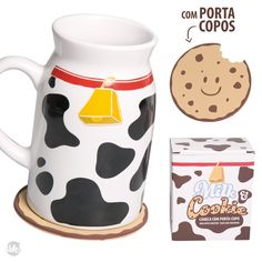 Caneca Milk and Cookie - LY Presentes Criativos