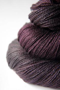 Silk/Merino Yarn Lace via Etsy.