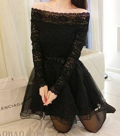 Material:Lace  Color:Black  Size: One size(Regular)  Measurement:  Length:76cm Bust:72cm Sleeve:52cm Waist:64cm Shoulder:39cm  PLEASE NOTE It can happen sometimes for the item to be OUT OF STOCK. In this case, after your purchase, you will get notified and 100% refounded.  SHIPPING (C...