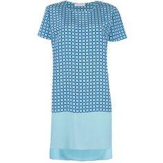 RICHARD NICOLL printed t-shirt dress (3,570 CNY) found on Polyvore t-shirt dresses T恤连衣裙 20130319